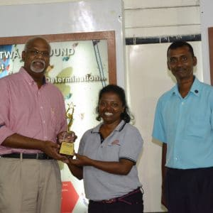 First female to win MIM youth leadership award –Talent & Human Capital (16 June, 2017)