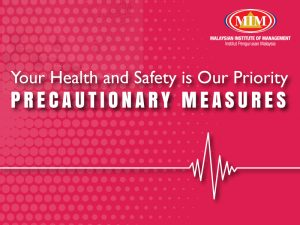 Your Health and Safety is Our Priority